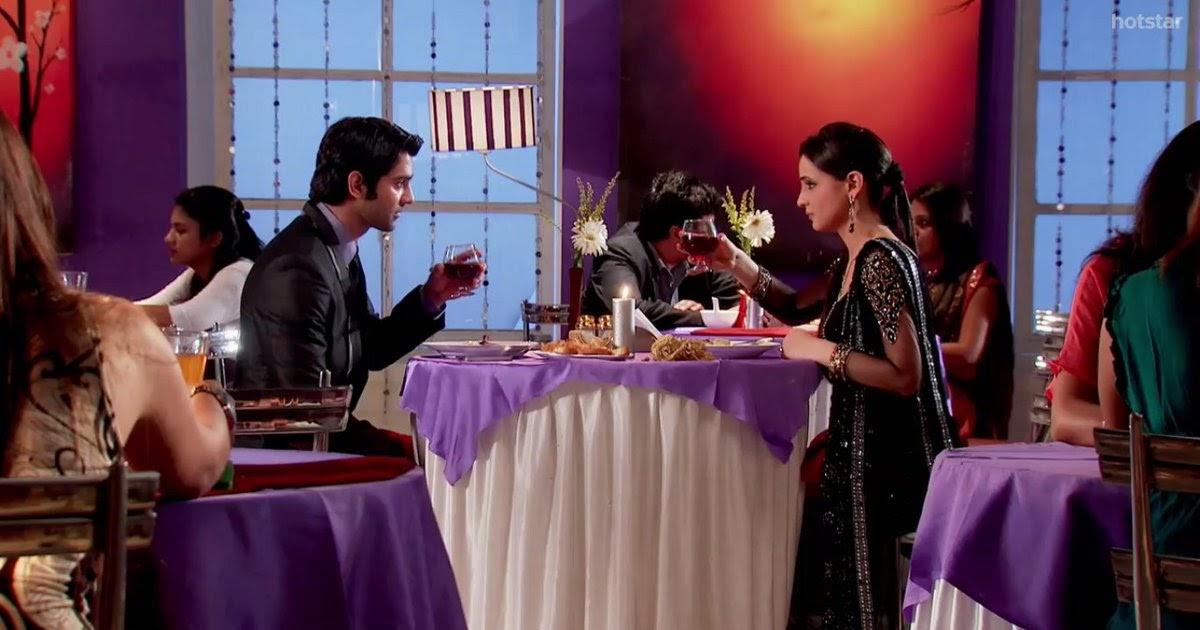 arnav goes to meet khushi full