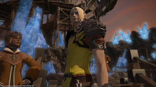Elezen monk in Mor Dhona.