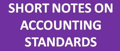 ACCOUNTING STANDARD NOTES SHORT PDF DOWNLOAD