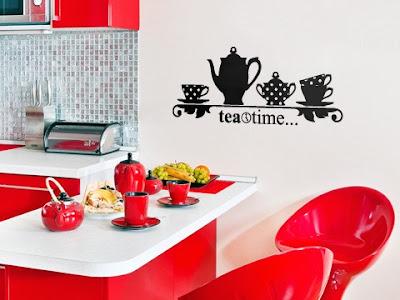 Decoración para la pared de la cocina