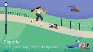 Ilustración Metas Deporte Google Calendar