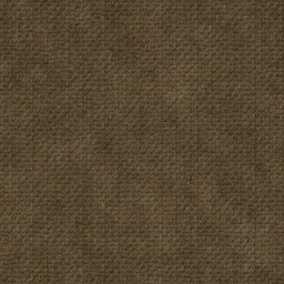 web texture of brown canvas