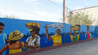 Farmer and fishermen of Cape Verde as Graffity