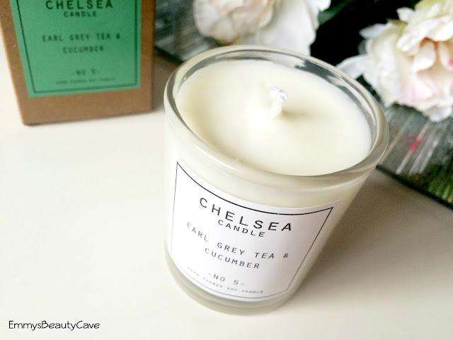 Chelsea Candle Earl Grey Tea & Cucumber Candle