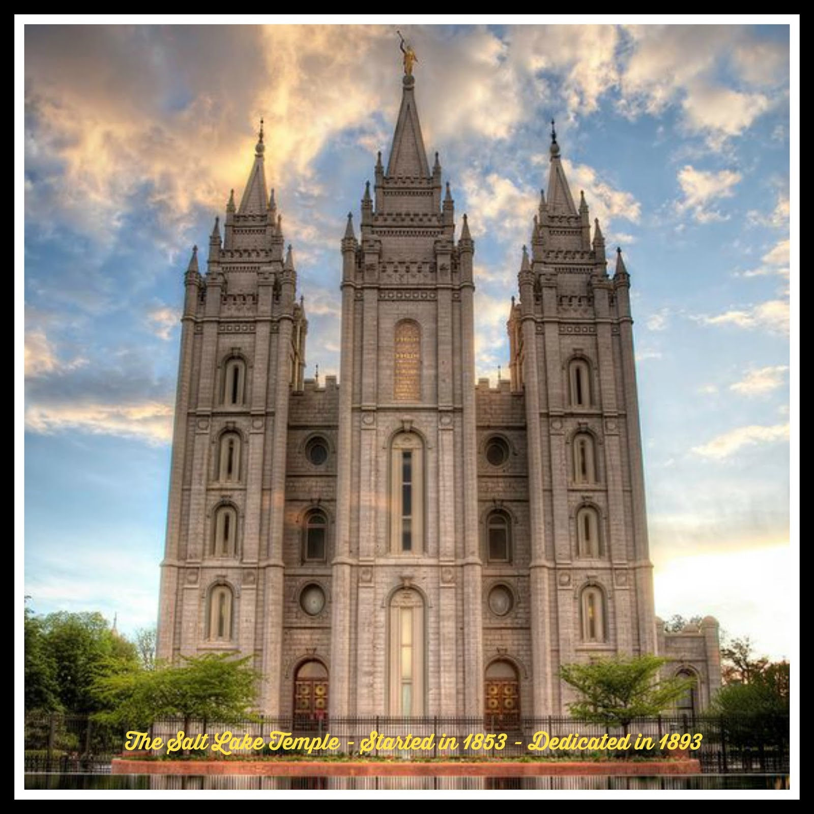 Living Waters ~: Why The Church Of Jesus Christ Of Latter