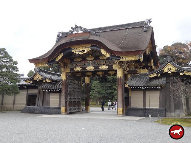 Entrée du château Nijo