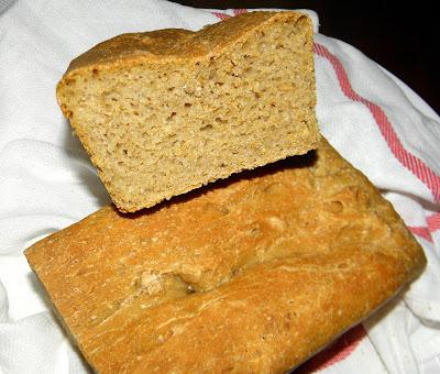chleb na piwie bez zagniatania