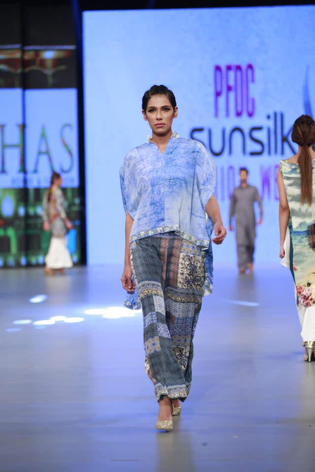 Khaass Premium Lwan Collection at PFDC Sunsilk Fashion Week 2016