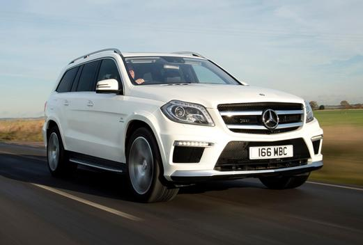 Mercedez Benz GL class is adaptive air suspension