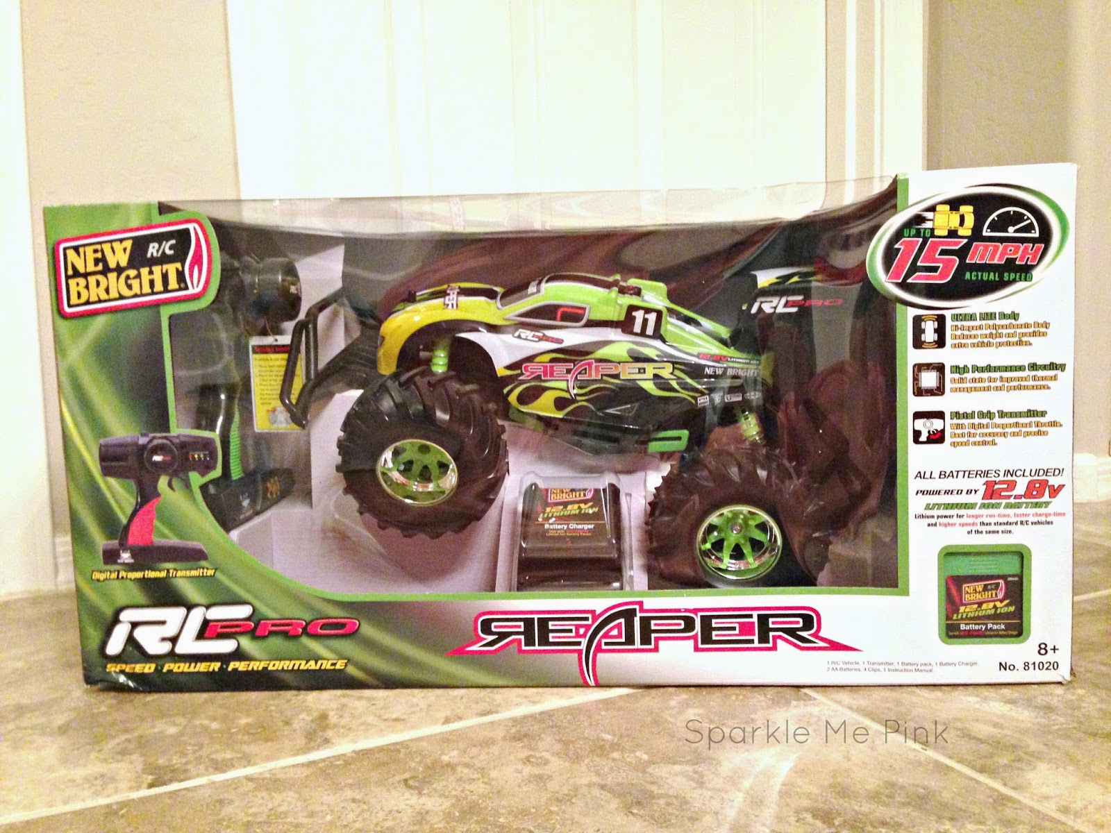 Sparkle Me Pink: New Bright R/C Pro Reaper REVIEW : HOT Toys of 2014