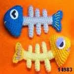 patron gratis pez amigurumi, free pattern amigurumi fish