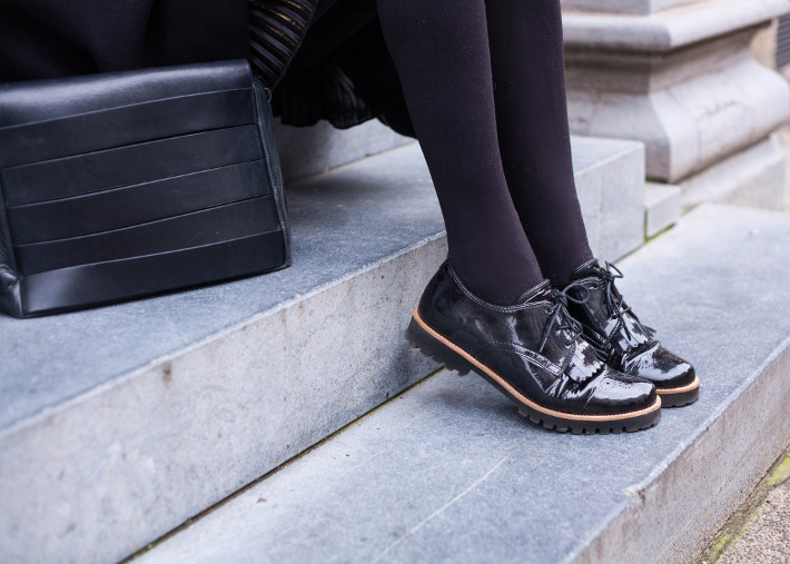 tassel brogues via Softwaves