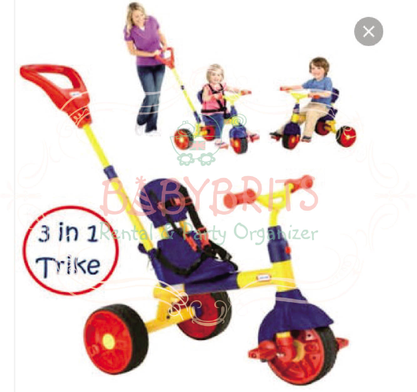 little tikes 4 in 1 trike assembly instructions