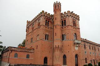 Bettino Ricasoli turned the Castello di Brolio into a kind of English-style neo-Gothic manor house