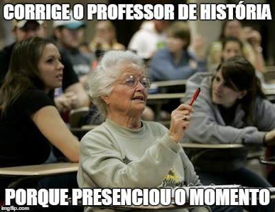 email divertido rir humor lol avó escola senior