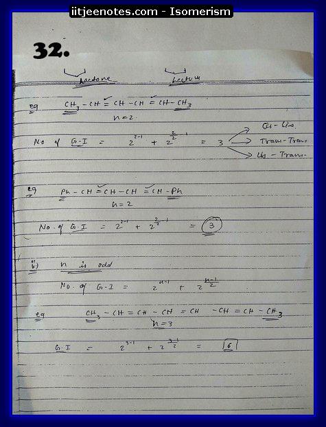 Isomerism Notes15