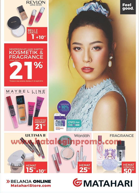 Promo Matahari Department Store Khusus Produk Kosmetik