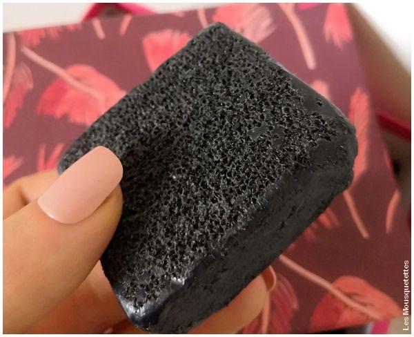 Avis Blog : Contenu Birchbox novembre 2018 : Morning Street, le savon éponge au charbon actif