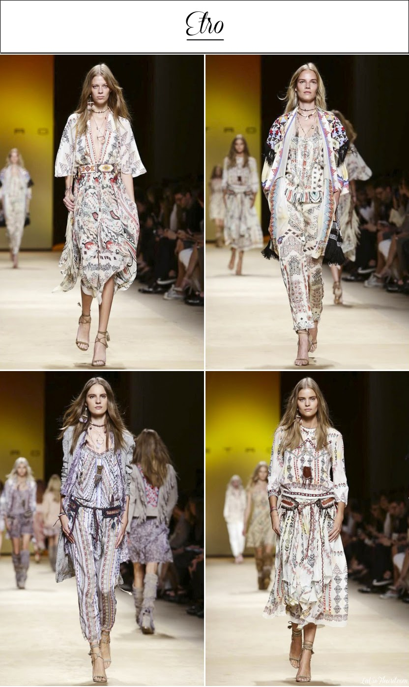Etro, Milan Fashion Week, MFW, #MFW, SS15,Spring, Summer, Textiles, Colours, Prints, Wishlist, Fashion, Fashionblogger, Runway, Catwalk, Blog, Spring-Summer 2015, www.LaVieFleurit.com, Mode, Modeblog, Blogger,