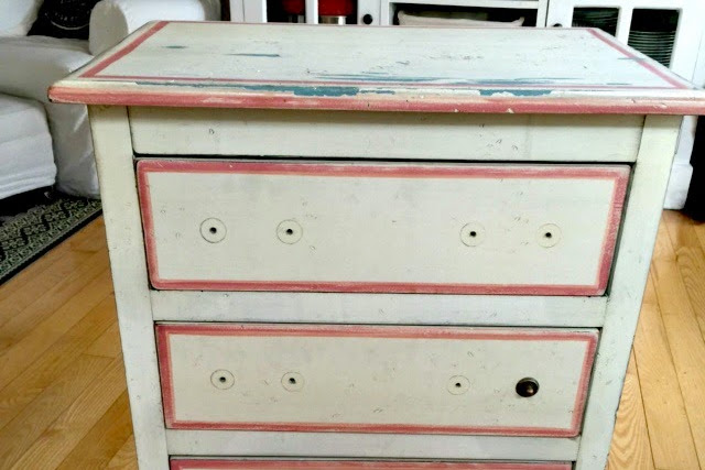 Small Fusion Mineral Paint Lily Pond Dresser