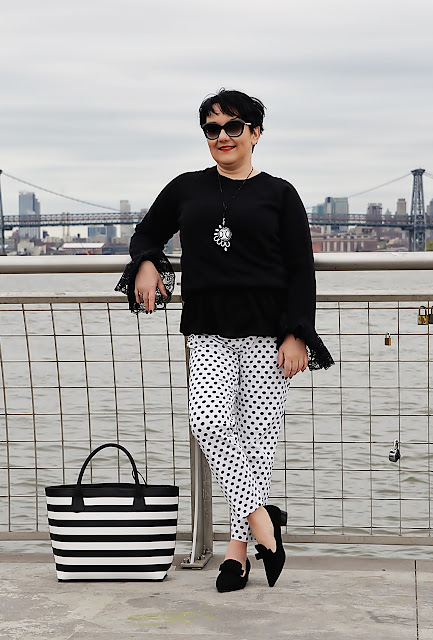 Black And White Fashion in New York