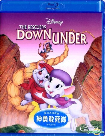 The Rescuers Down Under (1990) Dual Audio Hindi 480p BluRay 250MB ESubs Movie Download