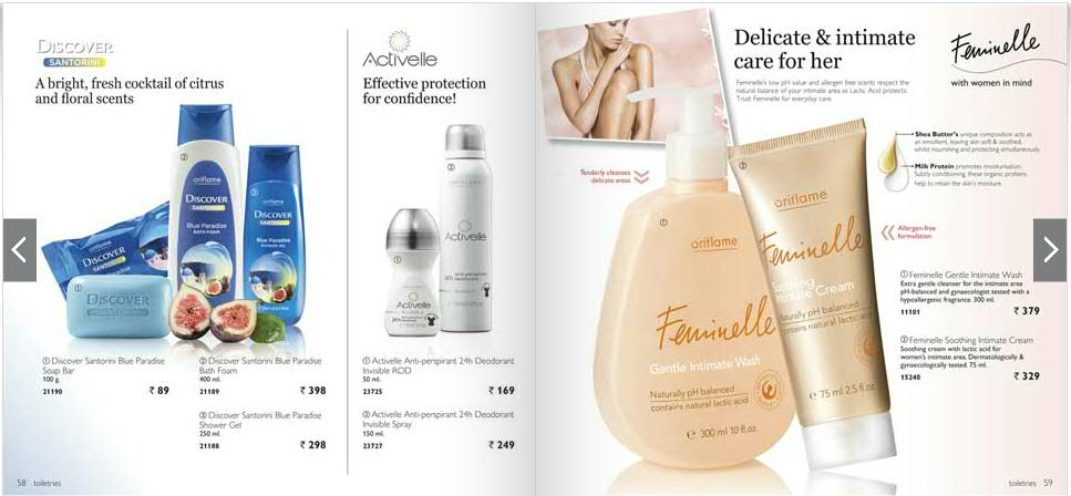 Oriflame India Catalogue July 2013 | Cover Page, All