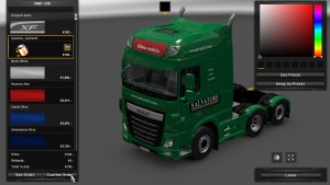 DAF Euro 6 Salvatori Group Skin