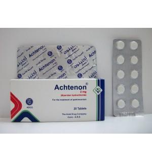 سعر ودواعى إستعمال دواء اكتينون اقراص Achtenon لعلاج الشلل