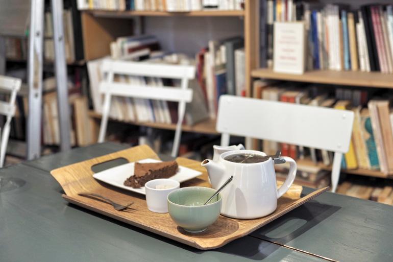 Bonne adresse à Caen : salon de thé et librairie Memoranda