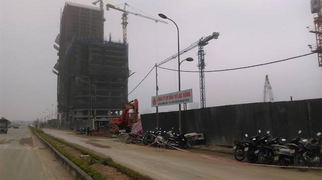 Cổng dự án Lạc Hồng Lotus N01T5