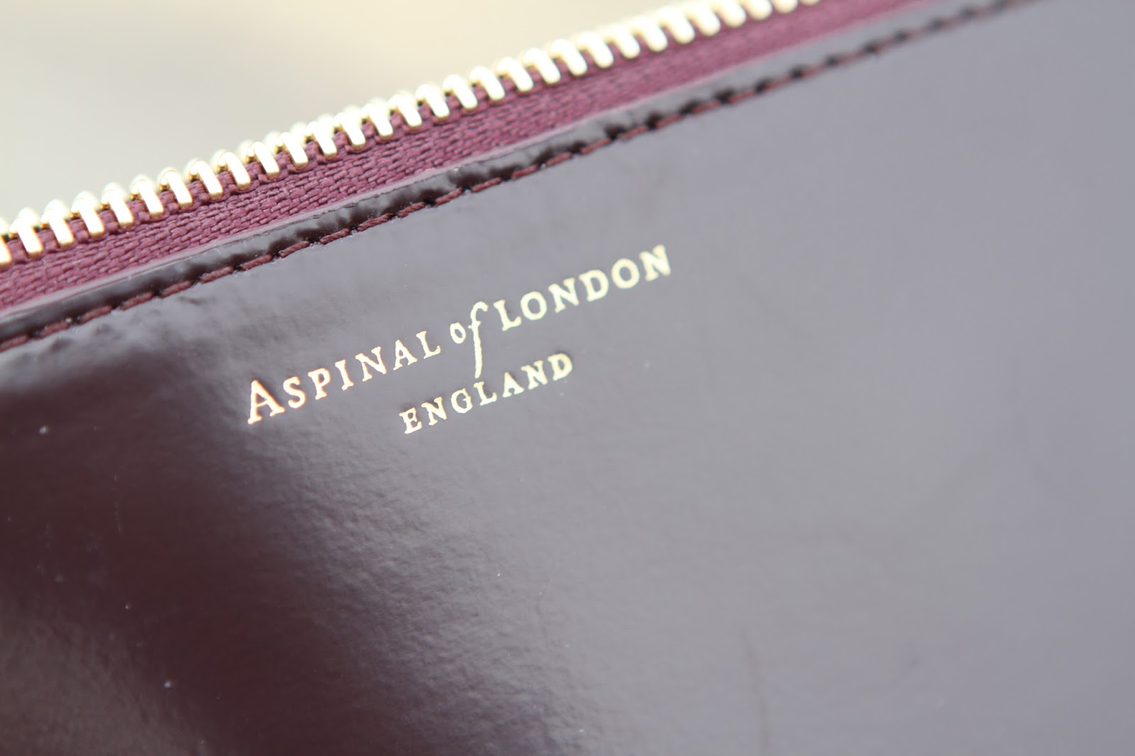 Aspinal of london large pouch