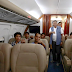 LOOK: President Duterte takes wounded soldiers from Marawi to Manila via presidential plane