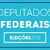Eleições 2018: Resultado municipal -  Confira como foi a votação para Dep Federal em Senador Sá. (Oficial)