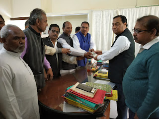 madhubani-mukhiya-assosiation-donate-for-myrters