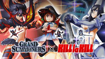 KILL la KILL faz nova colaboração com Grand Summoners