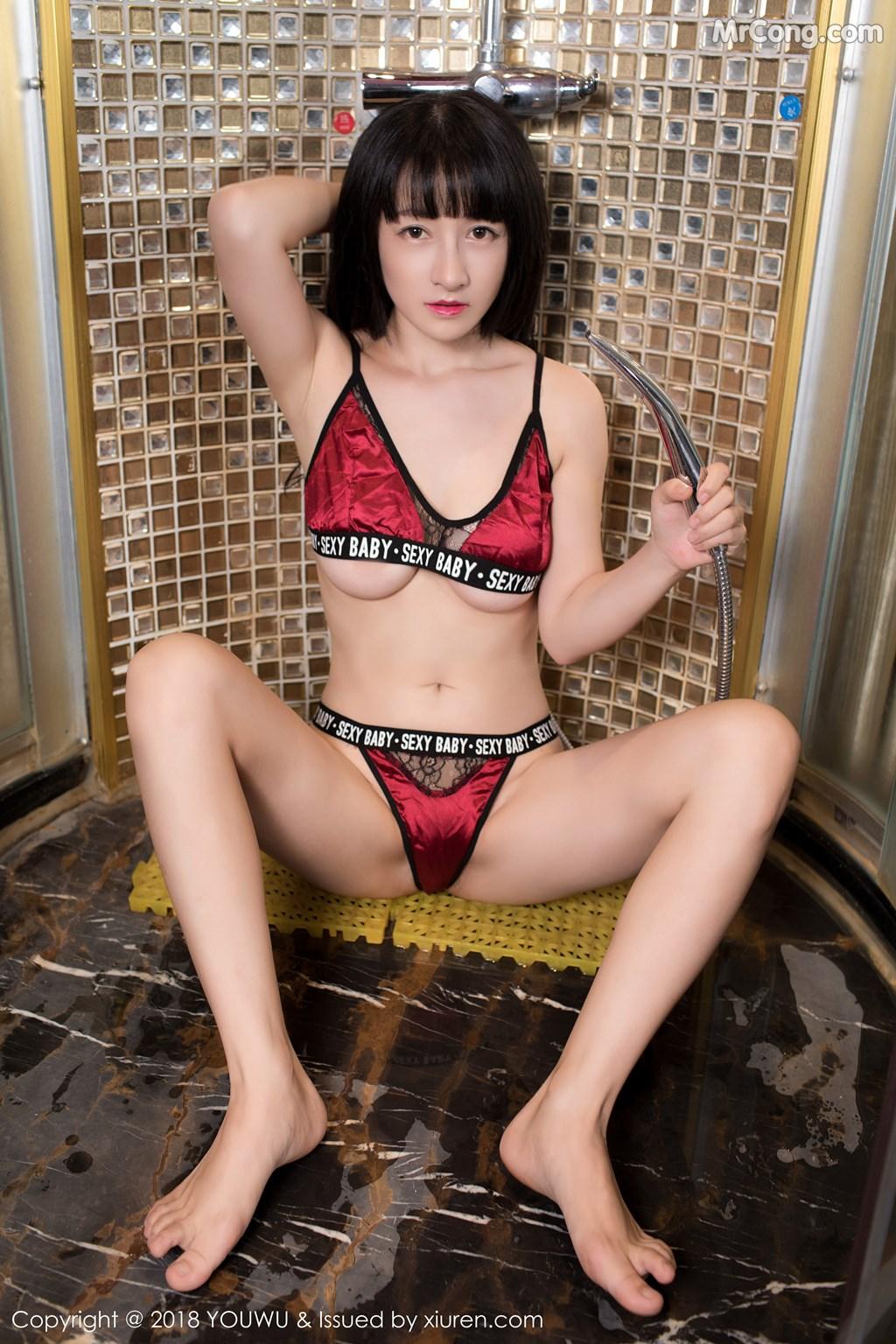 Image YouWu-Vol.107-Xiao-Tan-Ge-MrCong.com-006 in post YouWu Vol.107: Người mẫu Xiao Tan Ge (小探戈) (51 ảnh)