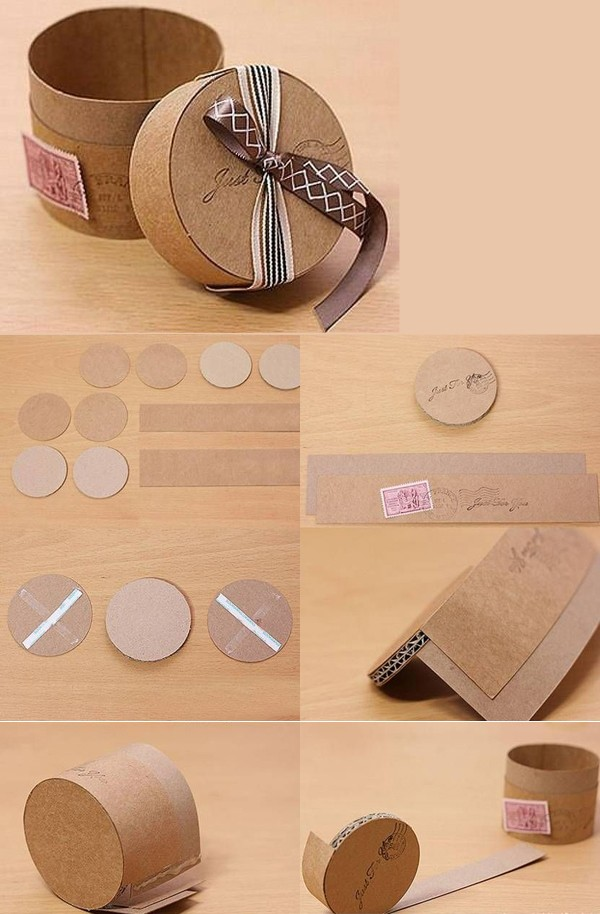 MAKE A GIFT BOXES, ( 1.PYRAMID, 2.ROUND VINTAGE, 3.BOXES FOR ...