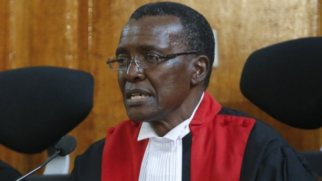 David Maraga hits back at 'threats' over Kenya election re-run