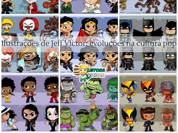 Ilustrações: Evoluções na cultura pop por Jeff Victor (especial Halloween)