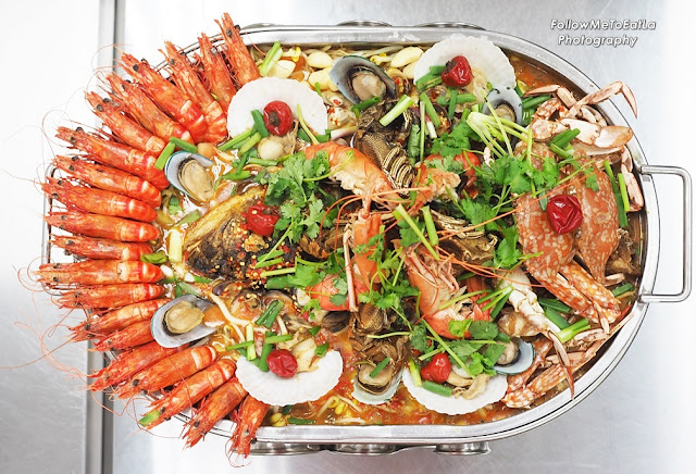 Jumbo Seafood Platter RM 288  SMALL Serving For 2 - 6 pax