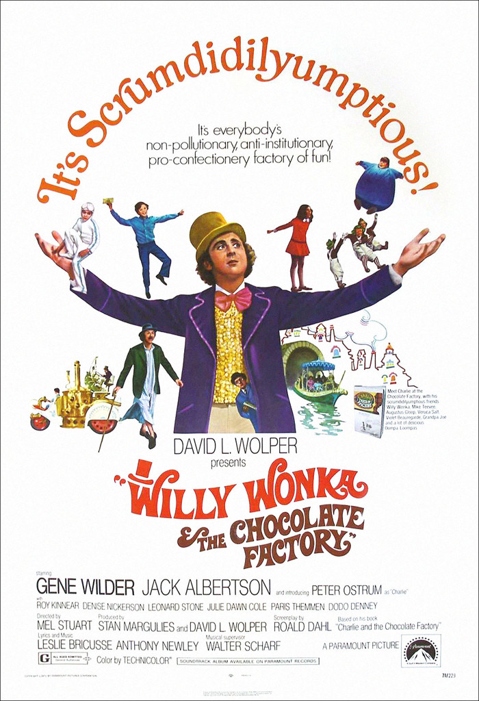 Willy Wonka and the Chocolate Factory Memorabilia