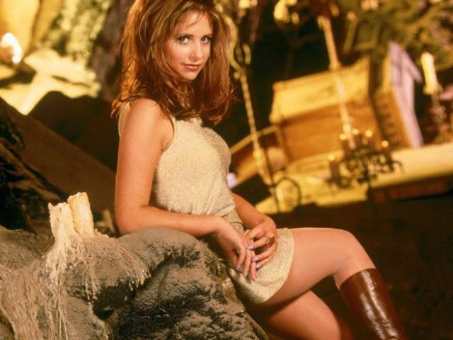 sarah michelle gellar buffy Gata   Buffy a caçadora de vampiros