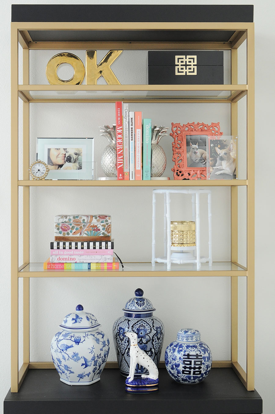 A perfectly styled bookcase or bookshelf is easy when you follow some simple design principles and tips.
