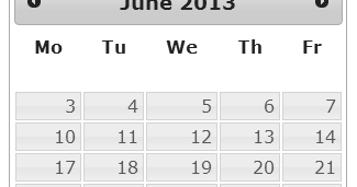 Remove Weekends From jQuery UI Datepicker | jQuery By Example