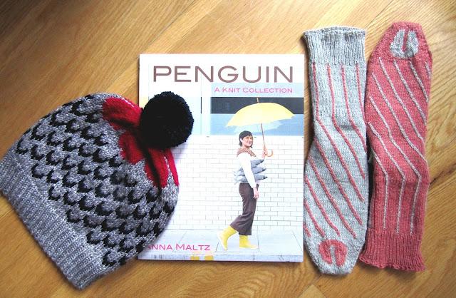 Penguins, Anna Maltz, Sweaterspotter, Socks Yeah, Rachel Coopey
