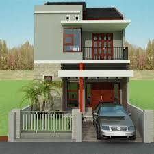 Desain Terbaru Rumah Minimalis 2 lantai Type 36 Paling Nyaman Untuk Hunian 2