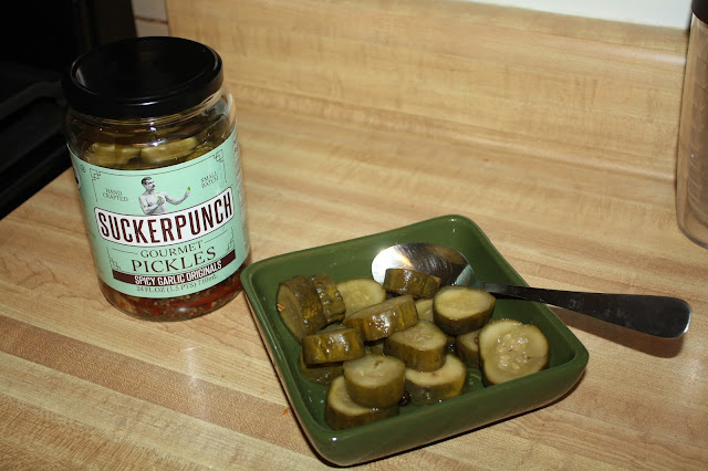 Suckerpunch Gourmet Pickles in December's Degustabox
