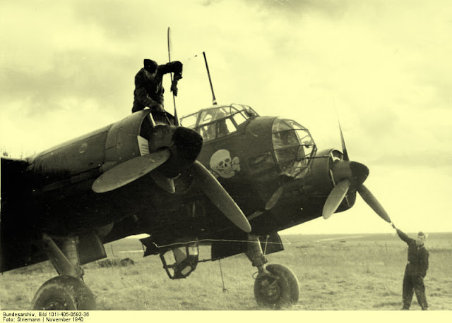 22 November 1940 worldwartwo.filminspector.com Junkers Ju 88 Luftwaffe bomber