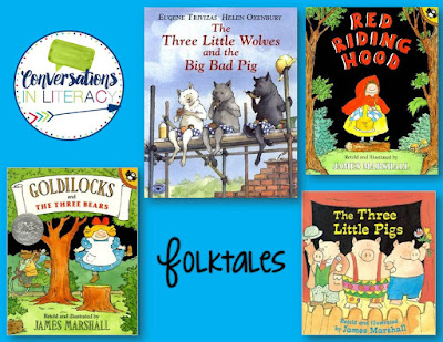 folktale books and resources for the classroom